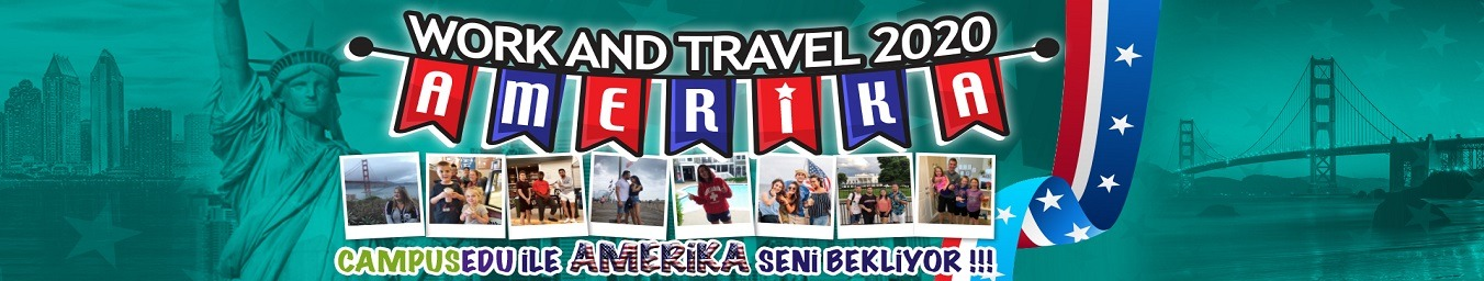 Work & Travel 2019 Amerika Seni Bekliyor